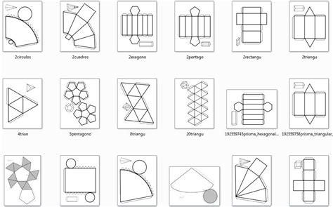 imagenes raras tridimensionales el cole de carmen fabrica cuerpos geom 233 tricos y descubre