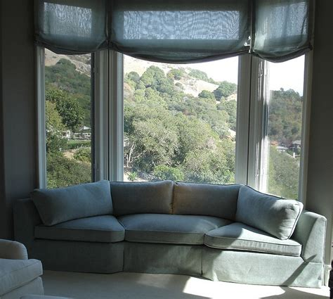 curved sofa for bay window 17 best images about corner sofa on window