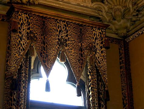 leopard curtains window treatments animal print window treatment what a view beautiful