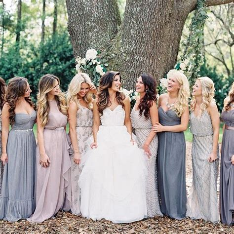 best 20 mix match bridesmaids ideas on mixed