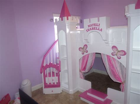 Princess Bed With Slide Girls Bedroom Sets With Slide Princess Bed With Slide