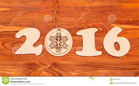 new year wood happy new year 2016 number made of wood stock photo