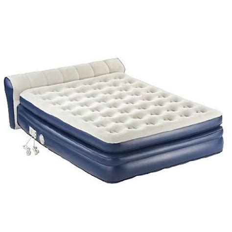 inflatable bed walmart aerobed 2000011983 18 quot elevated queen airbed inflatable