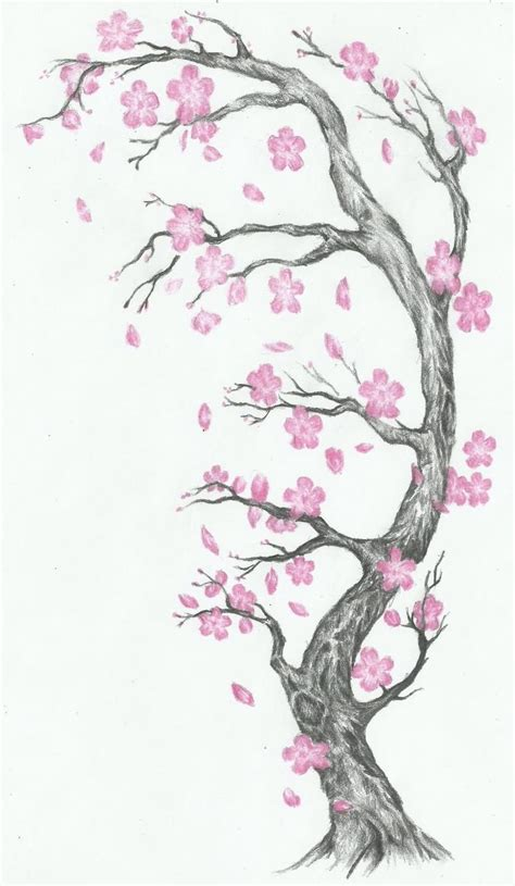 cherry tree design cherry blossom tree designs style by
