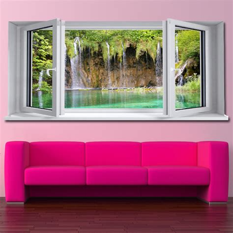 window wall stickers wallstickers folies window illusion wall stickers