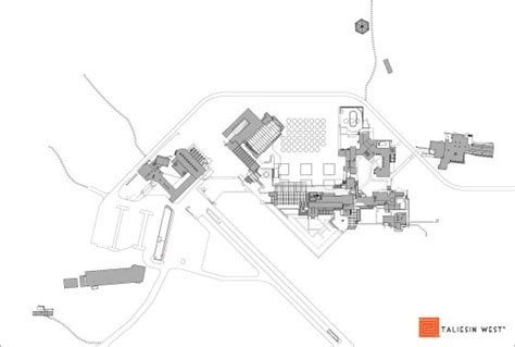 taliesin west floor plan 14 best fl wright taliesin west images on pinterest