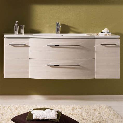 lunic  wall hung vanity unit buy   bathroom city