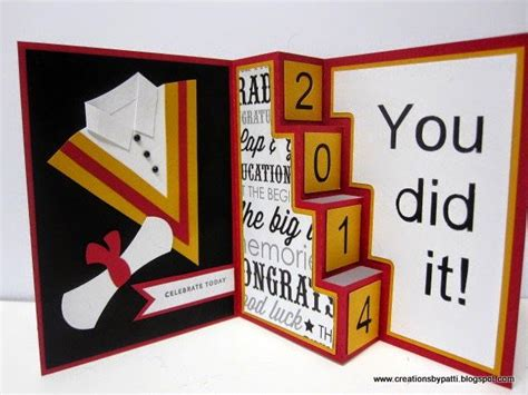 graduation pop up card template 281 best images about handmade graduation cards on