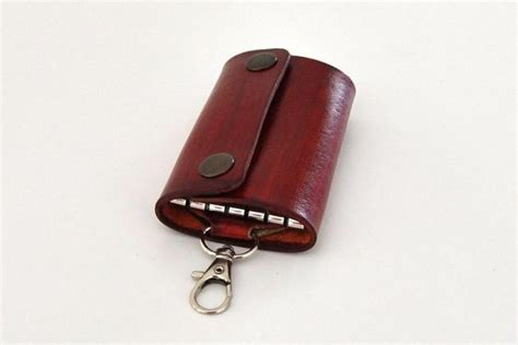 Handmade Leather Key Holder - handmade leather key holder bonjourlife