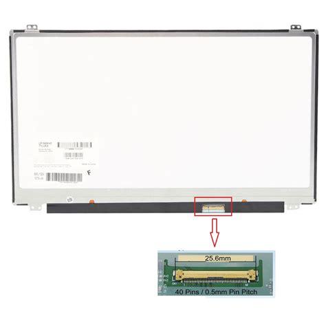Led Tebal 15 6 Inch 40 Pin notebook ekranları mersin necip bilgisayar