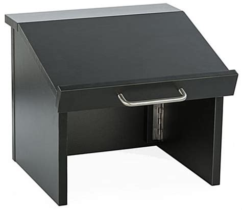 Retractable Countertop by Collapsible Countertop Lectern Portable With Handle