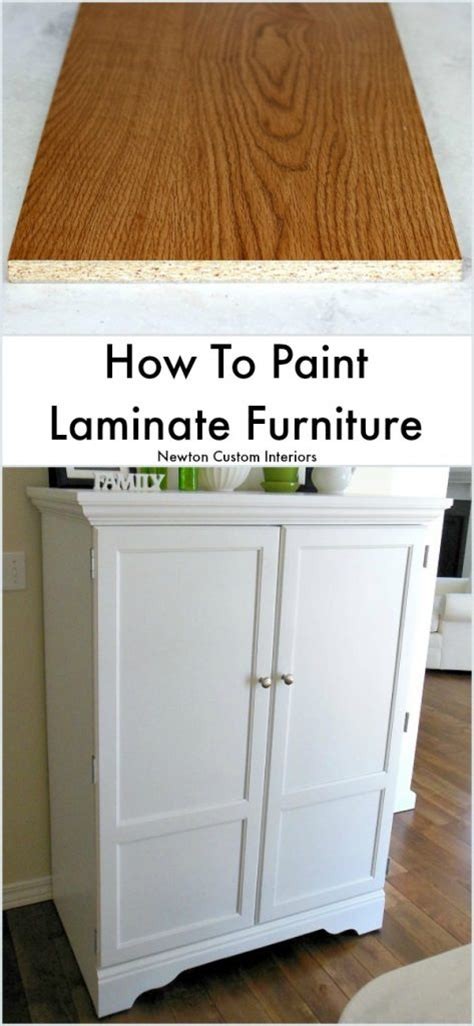 How To Paint From Furniture by How To Paint Laminate Furniture Newton Custom Interiors