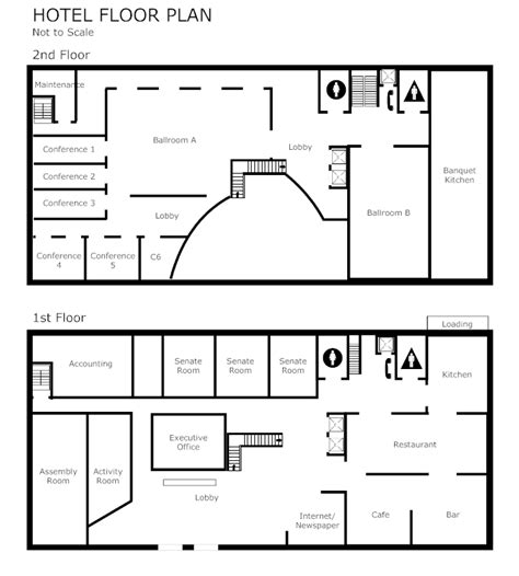 hotel room layout software conference planning software make free plans from templates