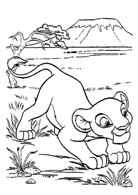 all lion king coloring pages free printable simba coloring pages for kids