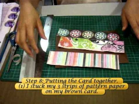 how to make pull out cards card mania series how to make a pull out slider