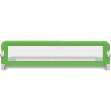 barriere letto bambini barriera di sicurezza per letto bambino 150 x 42 cm verde