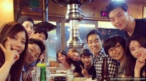 film korea hot baru syuting rung kru glory days foto bareng suho exo cs
