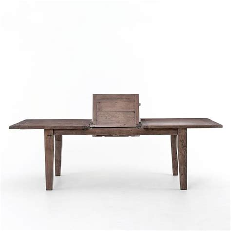expandable farmhouse dining table expandable farmhouse dining table sundried wheat elm