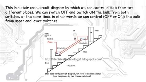 staircase wiring diagram using two way switch 45 wiring