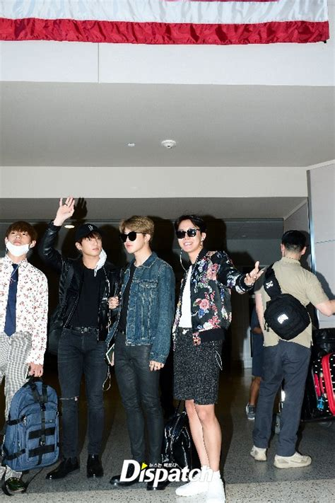 bts korean boy band bts bbma airport fashion landed in las vegas kpop