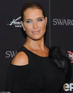 brooke shields attends the premiere of the documentary