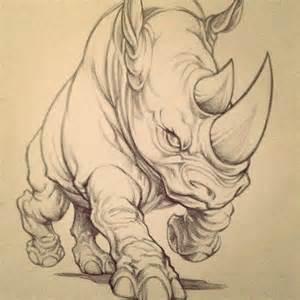 top 25 ideas about rhino tattoo on pinterest animal logo