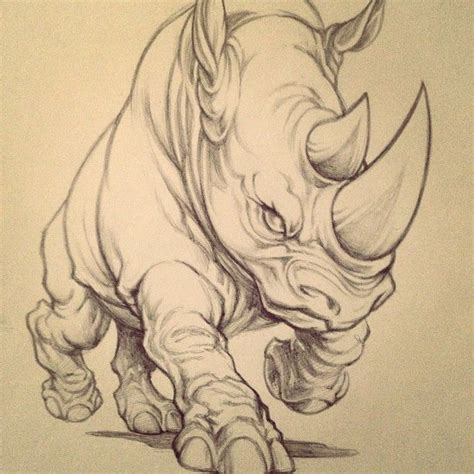 rhino pattern tattoo rhino tattoo outline www pixshark com images galleries