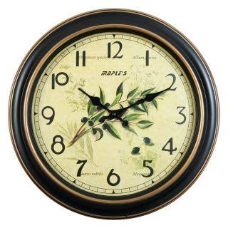 Black Bathroom Clocks New Novelty Bath Wall Clock In Gold And Black On