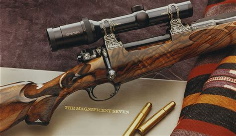 Handmade Rifles - riflery rifles bolliger s creative artistry in