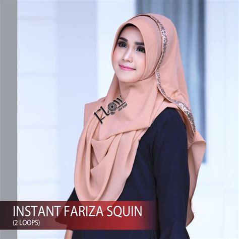 Pasmina Instan Fariza Squin pashmina instan fariza squin model 2018 modern