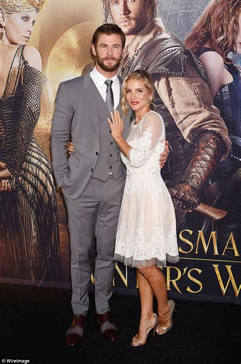 husband wife bedroom scene elsa pataky to star in horse soldiers with chris hemsworth daily mail online