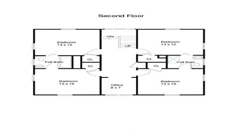 square house plans simple square house floor plans one story square house