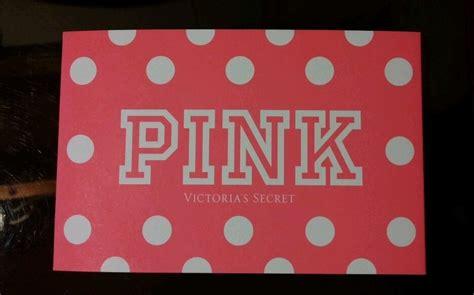 Victoria Secret Gift Cards For Sale - victoria secret pink 100 00 gift card with holder ebay