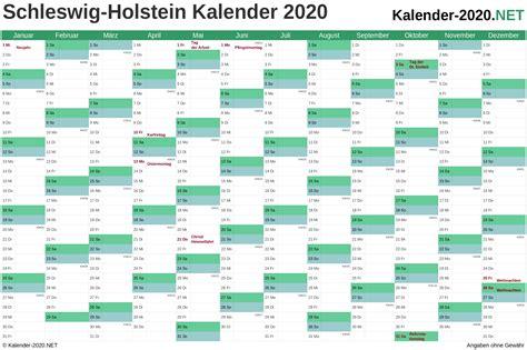 kalender  schleswig holstein