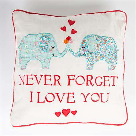 love cusion never forget i love you cushion honey cosmetics