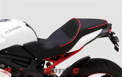 2011 speed low seat corbin dual saddle seat for 2011 2013 triumph speed