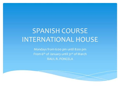 powerpoint tutorial spanish spanish course beginner presentation