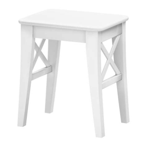 White In Stool by Ingolf Stool White
