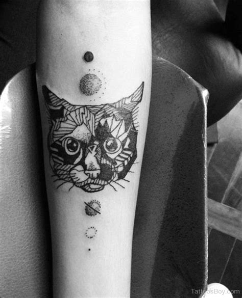 cat face tattoo cat tattoos designs pictures page 11