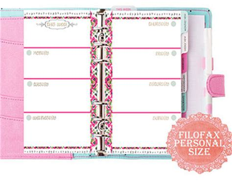 free printable personal planner pages 2015 9 best images of filofax pages 2015 printable free