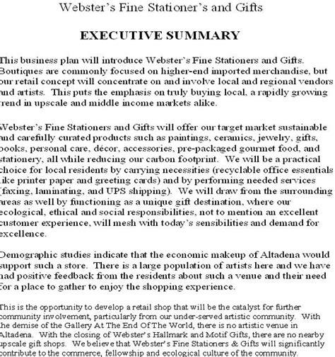 executive summary for salon spa studio design