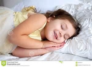 happy smiling kid sleeping and smiling stock image image