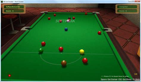 free download games snooker full version ofdacounte download 3d live snooker full version