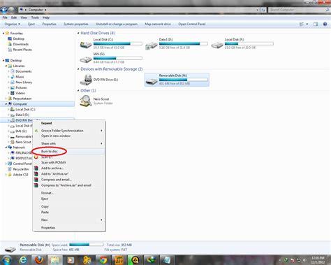 cara membuat dvd r menjadi rw pustaka iptekkes cara menyimpan copy file ke cd dvd