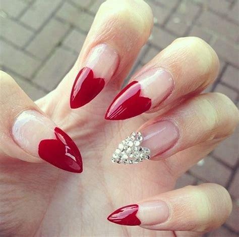 fotos de uñas de acrilico rojas 45 u 241 as rojas que no puedes dejar de probar