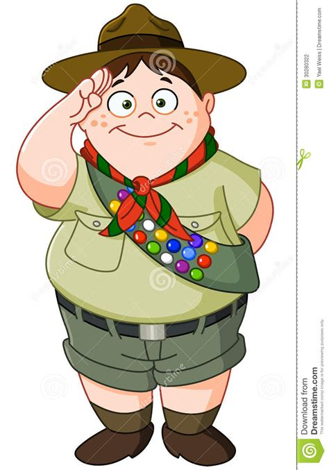 boy scout stock photography image