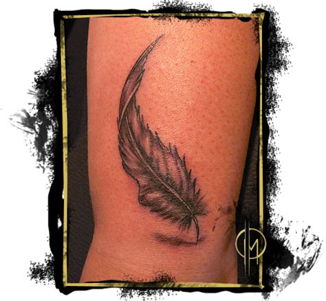 Mit Feder Und Schrift 5227 by Marc Lemke Tattoos