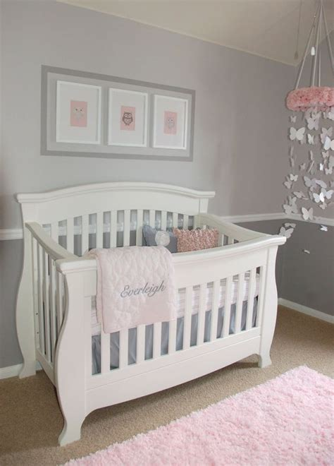only for pink and gray baby bedrooms