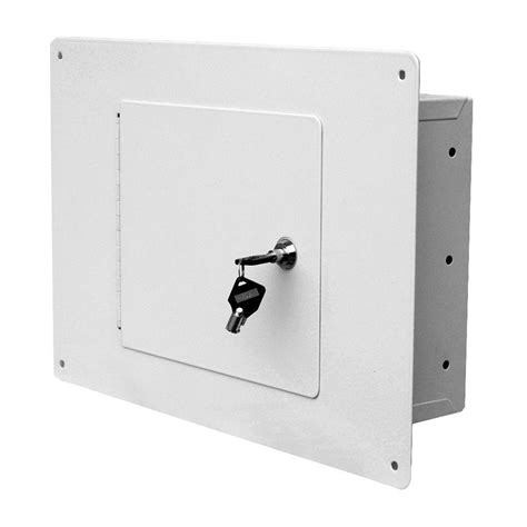 homak security white between the studs 0 28 cu ft non
