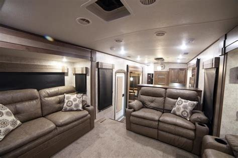 front living room 5th wheel open range 3x 377flr fifth 2017 open range 3x 377flr rear living room fifth wheel